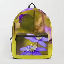 Wildflowers Spring Forest #decor #society6 #buyart Backpack