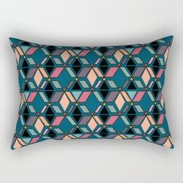 Colorful geometric pattern Rectangular Pillow