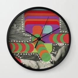 Wet Totem Wall Clock