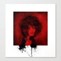 funky Canvas Prints featuring funky! by Axel Haudiquet