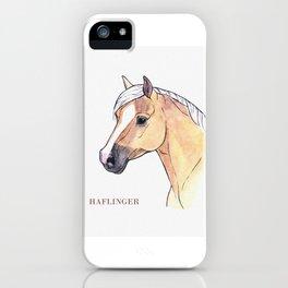 HAFLING HORSE iPhone Case