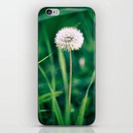 Fluffy Flower iPhone Skin