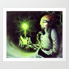Radioactive Art Print