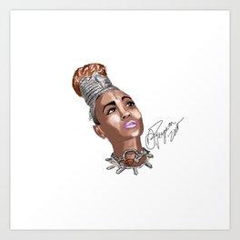 QueenReignapiim  Art Print