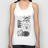 sin city Tank Tops featuring Sin city by Tshirt-Factory