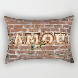 L'Amour - Brick Rectangular Pillow
