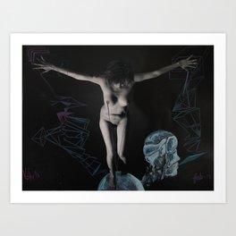 intervention 1  Art Print