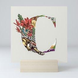 C -  Collage Type Collection Mini Art Print