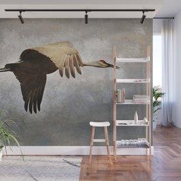 Crane Wall Mural
