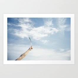 grounded Art Print