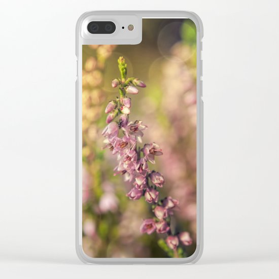 Erica Heather in LOVE II Clear iPhone Case
