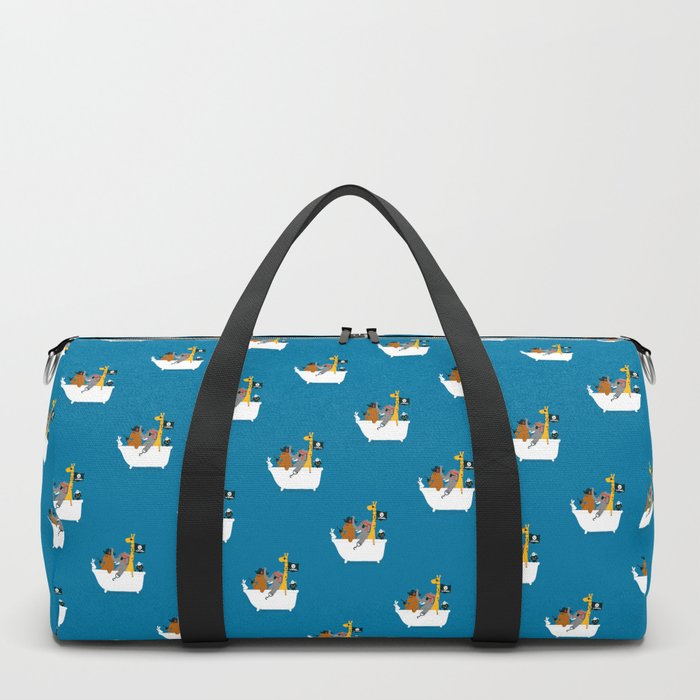 Everybody wants to be the pirate Duffle Bag