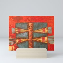 Santa Fe Painting Mini Art Print