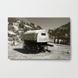 Gypsy Caravan Metal Print