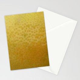 Lemon Skin Stationery Cards