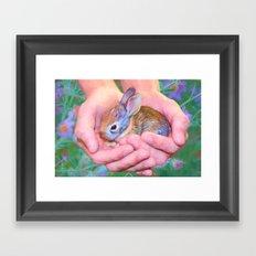 Tender Moment Framed Art Print