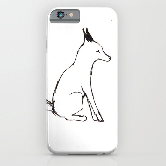 A Fox in The Park iPhone & iPod Case
