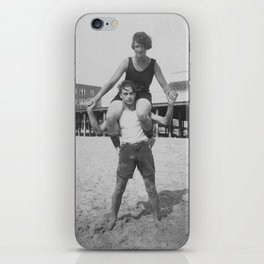 John & Jane iPhone Skin