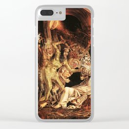Demons attack!! Clear iPhone Case