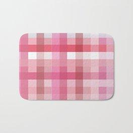 Pixelate Rose Bath Mat