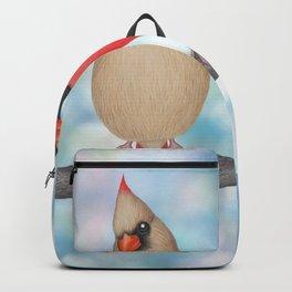 charming cardinals and bokeh Backpack