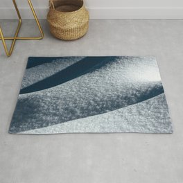 Abstract Snow Drift III - 101/365 Nature Photography Rug