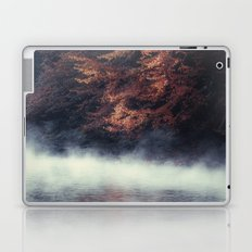 Nature's Mirror - Fall on the River Laptop & iPad Skin