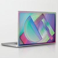 memphis Laptop & iPad Skins featuring memphis by Hannah Siegfried