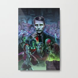 Hannibal Holocaust - They Live Return of the Living Dead Mads Mikkelsen Metal Print