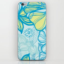 Oceanic Floral  iPhone Skin