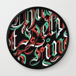 CHAOS - (color) Wall Clock