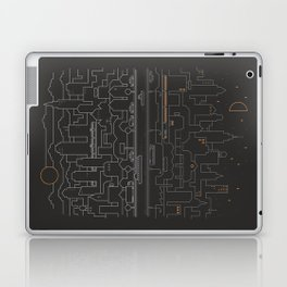 City 24 Laptop & iPad Skin