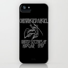 Led Highwind: One-Winged Angel iPhone Case