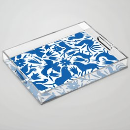 otomi blue Acrylic Tray