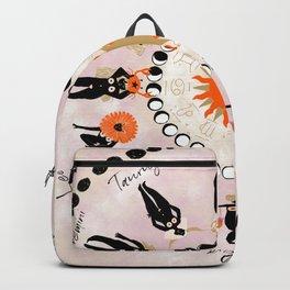 Zodiac Wheel Backpack