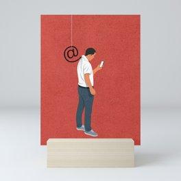 Phishing Mini Art Print