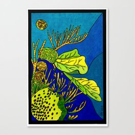 Sea Salad Canvas Print