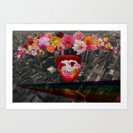 Flower  Vomit Art Print