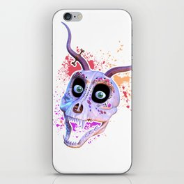 Ankou - colorful head iPhone Skin