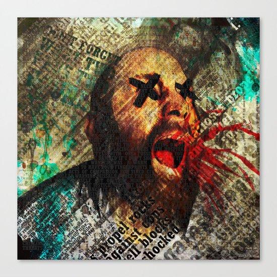 Sage scream Canvas Print