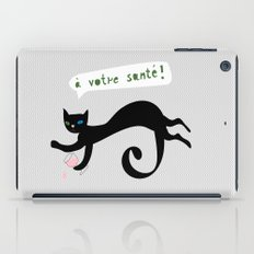 party animals - french cat iPad Case
