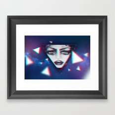 dimensional snap Framed Art Print
