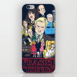 Frasier Things iPhone Skin