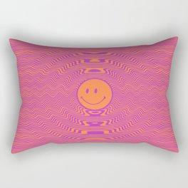 Happy Tripper Rectangular Pillow