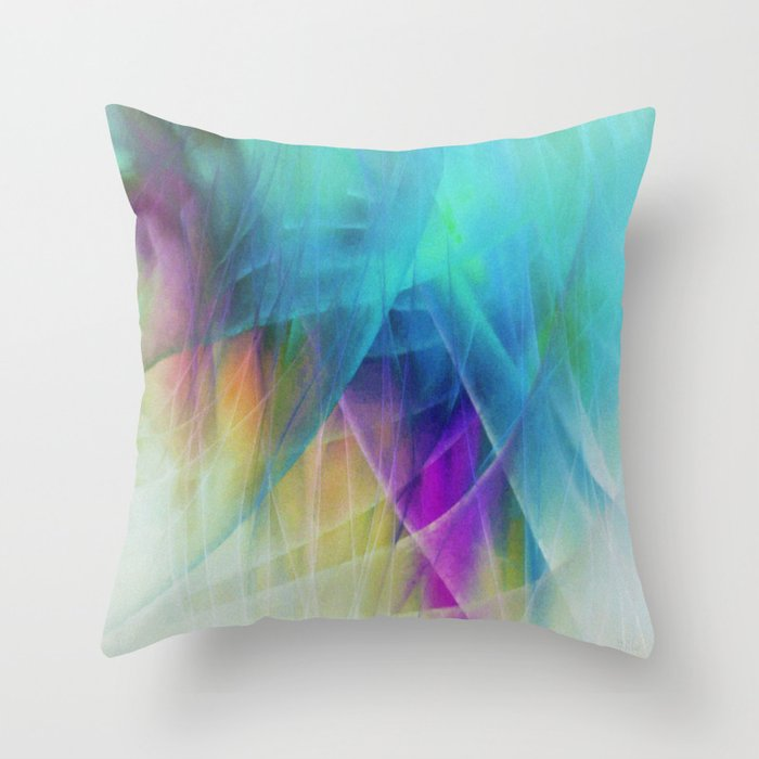 Filmy Things Throw Pillow