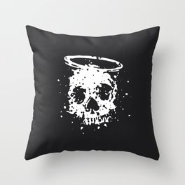 The Angel and The Gambler Throw Pillow