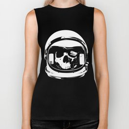 Ground control, there's something wrong Biker Tank