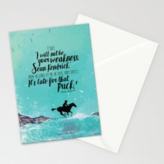 The Scorpio Races - Weakness design Stationery Cards