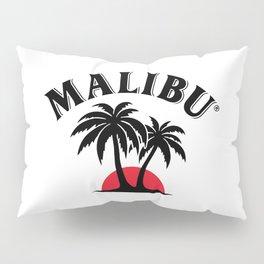 Malibu Rum Drinks Pillow Sham
