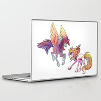 exo Laptop & iPad Skins featuring Slipstream & Exo by Huenchunb